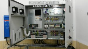 Wechselrichter, Ladeelektronik & Prozessleittechnik (Fa. Zach)