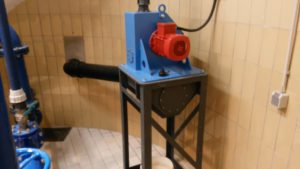 Turbine PHT200 mit Unterbau